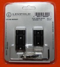 Leupold Scope Base Mount Savage 110 Rifles Matte Black Weaver Mounts 56509