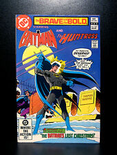 COMICS: DC: Brave and the Bold #184 (1982), Batman/Huntress - RARE