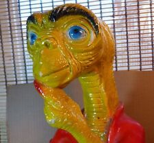 """Large 16"""" E.T. the Extra-Terrestrial Creature Carnival Chalkware - 1980's"""