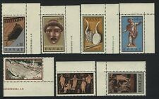 Greece  Scott # 649-55 with Labels   MNH  Value $ 19.95  US $$