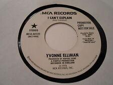 R&B SOUL /N SOUL YVONNE ELLIMAN I CAN'T EXPLAIN   MONOT[vinyl 45] MCA DJ401 a m-