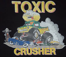 NEW Toxic Waste Candy XL T Shirt Sour Brand  Black Crusher Barrel Drum Unworn