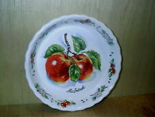 "Vintage Papel Apple Orchard 9 1/2""  Deep Dish Pie Baking Server McIntosh NEW"