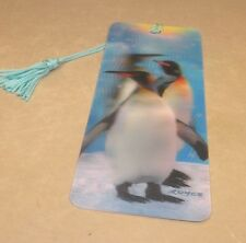 New 3D Lenticular Bookmark -Snowflakes- with Tassle - Image Pops Right Out