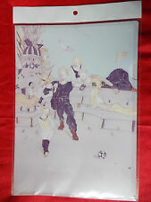 NEW! FINAL FANTASY Vlll / A4 Size FILE FOLDER Yoshitaka Amano UK DESPATCH / RARE
