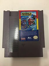 Mario's Time Machine ORIGINAL RARE NINTENDO CLASSIC GAME SYSTEM NES HQ