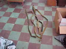 MILITARY RIFLE SLINGS NO HARDWEAR FRAYED    (5) GARAND MILITARY ARMY MARINE
