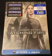 HUNGER GAMES CATCHING FIRE Blu-Ray SteelBook. UPSIDE DOWN. Rare, Only 1 on eBay!