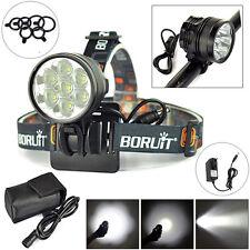 10000Lm 7x XML T6 LED Avant Bike Lamp Torche vélos lumière Frontale Lampe phare