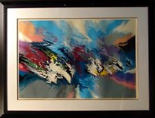 """Robert Katona """"Sea World"""" Dolphins Hand Signed ART SERIGRAPH SUBMIT AN OFFER"""