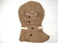 WWII Era US Army Special Protective Poplin Cotton Hood used w/Gas Mask  Unissued