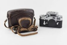 *EX+* Leica M2 silver chrome with Leica meter MC, leather case