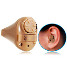 Mini In Ear Amplifier Adjustable Volume Sound Tone Digital Hear Hearing Aids Aid