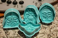 UK Set x 4 Star Wars Cookie Cutters Plungers Baking Craft fondant sugarcraft