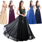 CHEAP Formal PEACOCK Bridesmaid Dress Prom Party Gown Evening Maxi Dresses 20-26