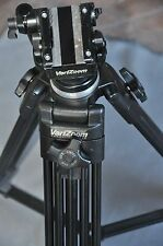 VariZoom VZ-TK75A Aluminum Video Tripod with 65mm Fluid Head