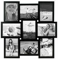 Malden 9 Opening 5'' x 7'' Black Collage Frame One Size