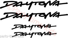 Triumph Daytona Motorcycle Decals Stickers Trackday Bellypan Fairing Graphics