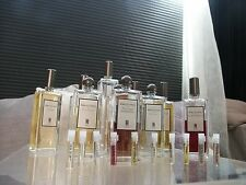Niche samples Serge Lutens Sa Majeste La Rose, Fille de Berlin, Arabie,  +more