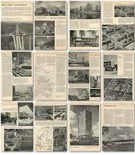 1957 Holland Re-planned Rotterdam Architecture