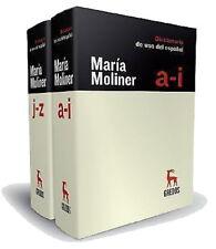 DICCIONARIO DE USO DEL ESPAÑOL 3ª ED by Maria Moliner Ruiz (2007, Hardcover)