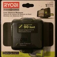 Ryobi ES1000 Phone Works Laser Distance Measurer NEW LOW PRICE