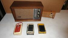 Vintage Radios Battery and Electric Tube Type GE Soundesign Raleigh Working