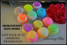 Aromatherapy Bubble Bath Bombs with Coconut Oil + FREE CRYSTAL COLLAGEN EYE MASK