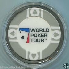 WORLD POKER TOUR WPT Card Guard Protector - Gray