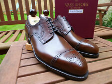 VT96 - Vass ALT WEIN - EU41.5 UK7.5 US8.5 Antique Cognac Calf - F Last