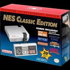 Nintendo Entertainment System NES Classic Edition 30 Games In Hand FREE Shipping