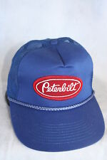 PETERBILT  TRUCKS  HAT WITH EMBROIDERY PATCH ADJUSTABLE SIZING  LT BLUE, GREEN