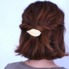Girls Fashion Vintage Leaf Barrette Clip Hair Accessories Bobby Hairpin