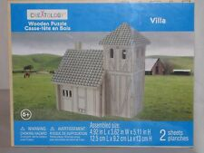 "Creatology 3D Wooden Puzzle ""Villa"" In The Countryside"