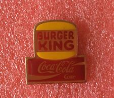 Pins COCA COLA Coke BURGER KING Hamburger