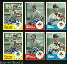 CODY MARTIN Signed/Autographed 2012 TOPPS HERITAGE MINOR LEAGUE CARD Braves