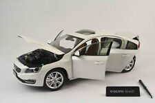 VOLVO S60 S 60 Limousine 2015 white weiss pearl 1/504 lim Ultimate Diecast 1:18