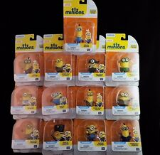 Lot of 13 Minions Movie Poseable Figures Complete Set! New! FREE SHIPPING!