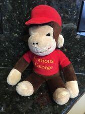 """Vintage Knickerbocker Plush Curious George Large Around 18"""" Rare"""