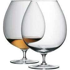 Barra LSA BRANDY Glass-Clear-COPPIA