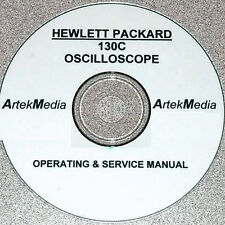 HP Hewlett Packard 130C OSCILLOSCOPE  Operating & Service Manual