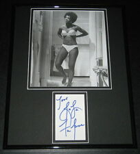 Lola Falana SEXY Signed Framed 11x14 Photo Display