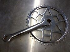 Vintage Hercules Cottered Crank Arm and 44 tooth Chainring New Old Stock
