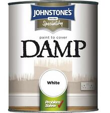 Damp Proof Paint Anti damp White matt finish 750ml specialist walls brick stone