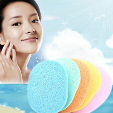 6Pcs Soft Cleansing Sponge Natural Face Wash Puff Facial Cleaning Pad Random