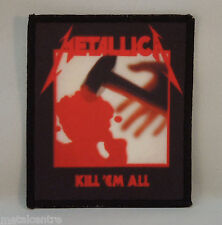 METALLICA Kill 'Em All (Printed Patch) (New)
