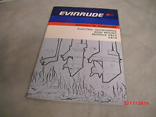 1976 Evinrude EB12/14 Electric Outboards Bow mount Owners Manual #207786  2-D-3