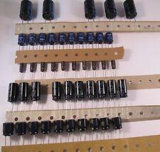 TOP Sortiment ELKOs - 0,22µF - 4700µF / 16V - 450V - über 260 Stück in 40 Werten