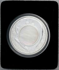 2015 Australia Mother Of Pearl Shell 1 oz. Silver Coin w. Box/COA FREE S/H Perth