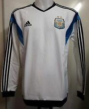 ARGENTINA FOOTBALL WHITE SWEAT TOP BY ADIDAS ADULTS SIZE XL BRAND NEW WITH TAGS